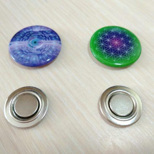пластины с наногенератором на магните