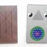 зеркальная нано пластина